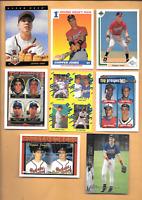 1991 Chipper Jones Rookie Score #671 & 6 Chipper Jones RC. Atlanta Braves Cards