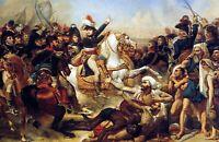 Battle Of The Pyramids by Antoine-Jean Gros. War Canvas War Art.   13x19 Print