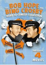 BOB HOPE BING CROSBY ROAD TO COMEDY DVD 4 Film Singapore Zanzibar Morocco Utopia