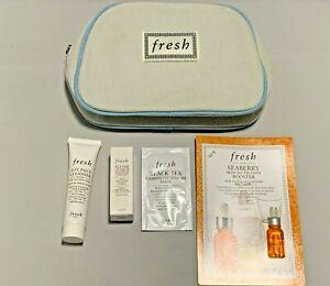 Fresh 5 piece gift Set - Cleaner - Mask - Essence - Lip