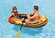 💦INTEX EXPLORER 200 INFLATABLE 2 Person River BOAT Raft Set W/ 2 Oars & Pump 💦