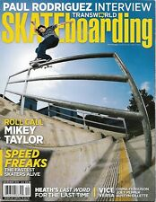 Transworld Skateboarding Magazine / December 2010
