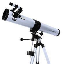 Seben 900-76 EQ2 Telescopio Riflettore Astronomia Cannocchiale Astronomico