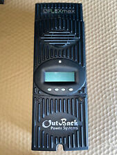 Outback Flexmax 80 FM80 MPPT 80 AMP Solar Charge Controller  USED