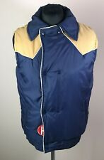 Vintage 1980's Jean Claude Killy Insulated Vest Men's Size 34 (M) Made in Korea