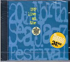 """GRP """"LIVE AT THE NORTH SEA JAZZ FESTIVAL"""" CD NUOVO SIGILLATO Patitucci-B.B.King"""