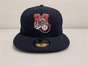 New Era LMB SULTANES de MONTERREY Sz 7 1/2 Mexico Baseball Blue Cap Fitted LMP