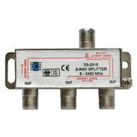 Repartiteur 3-voies 5-2400MHz Sorties Antenne TNT TV SAT Direction Splitter