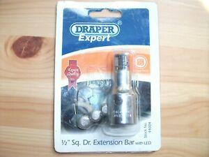 """Draper Expert 1/2"""" Square Drive  Extension  Bar with Led  44004"""