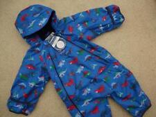 New 💙 JOJO MAMAN BEBE Waterproof Lined Snowsuit 12-18m BNWT All-In-One DINOSAUR