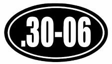 .30-06 Vinyl Decal Sticker Car Window Wall Bumper Gun Ammo 7.62x63 Sniper Rifle