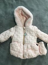 Rothschild Infant Jacket Size 6 To 9 Months Coat With Matching Gloves