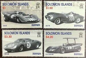 Solomon Islands 1997 ☀ Sport cars - Ferrari ☀ MNH**