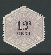 1877TG Nederland Telegramzegel NR.4 postfris mooi zegel zie foto's!!