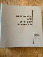 Woodworking and Scroll Saw Pattern Club Book with 89 Patterns