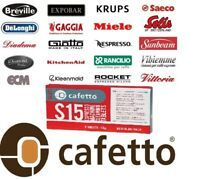 Cafetto S15 Espresso Coffee Machine Cleaning Tablets Cleaner Clean (8x1.5g)