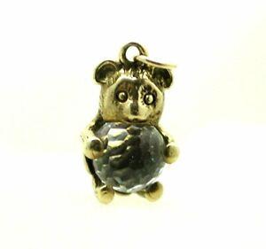 Pretty 9 carat Gold Teddy Bear Charm