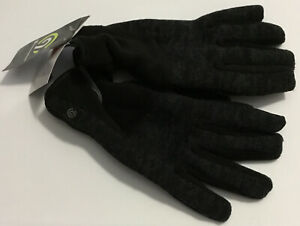 Champion C9 Men's Duo Dry Tech Touch Warmer 3M Thinsulate Black Gloves M/L