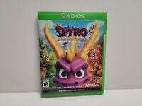 Spyro Reignited Trilogy (Microsoft Xbox One, 2018) CIB Complete TESTED