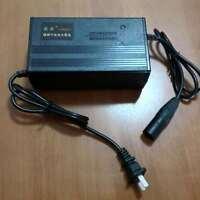 Scooter 58.4V 2A Battery Charger 16S Lifepo4 Li-ion Lithium Battery XLR E-BIKE