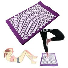 Cushion Massager Yoga Bed Pilates Nail Acupressure Mat Relax Massage Health Care