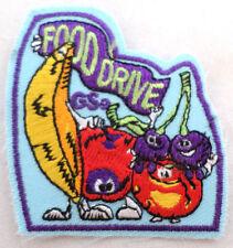 Girl Scout Gs Uniform Patch Food Drive Vegetables Fruit  #Gsbl