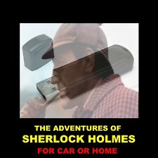 SHERLOCK HOLMES FLASH DRIVE. ENJOY 374 OLD-TIME RADIO SHOWS IN YOUR CAR OR HOME!