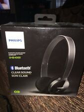 New with Box Philips SHB-4000 Bluetooth Clear Sound