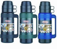 Thermos Mondial Vacuum Flask Black/Green/Blue 0.5/1/1.8 Litre