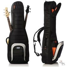 Mono Cases M80 Series Dual Electric Bass Guitar Hybrid Carrying Gig Bag Black