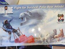 2006 GIJOE Land Adventurer Fight For Survival Polar Bear Attack Convention Set