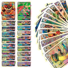 New 20pcs Pokemon EX Card Holo Flash Trading Cards Charizard Venusaur Kids Toy