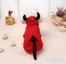 E2 Deluxe Pet Dog Cat Puppy Red Devil Halloween Costume