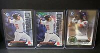 Michael Chavis (3)Lot 2018 Bowman Chrome Trending / Top 100 Boston Red Sox