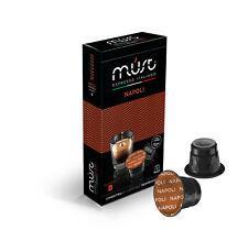 100 Nespresso Compatible Coffee Capsules- 100 Must Espresso Napoli