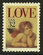 US Scott #2957, Single 1995 LOVE 32c VF MNH