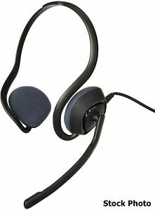 Plantronics Audio 648 Digital Stereo USB Headset, Black