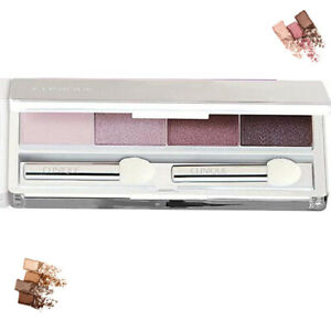 Clinique Quad Eye Shadow Peppercorn Concord Rock Violet Seashell F/Size NewUnbox