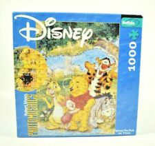 Buffalo - Disney Winnie the Pooh Photomosaics 1000 Piece Jigsaw Puzzle Complete
