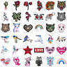 DIY Flower Animals Embroidered Applique Sewing Iron On Patch Badge Fabric Crafts