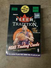 2000-01 Fleer Tradition SEALED Unopened Blaster Wax Box NBA Basketball  11 Packs