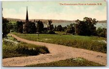 The Kennebecasis River at Lakeside in New Brunswick, Canada Divided Postcard