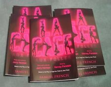 La Cage Aux Folles Scripts, Play by Harvey Fierstein, set of 20 and Stage Manage