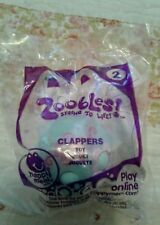 McDonald's 2012 Zoobles! Spring To Life Clappers Toy #2