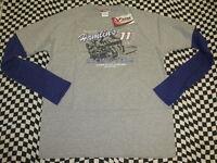 Denny Hamlin #11 FedEx NASCAR Long Sleeve T-shirt! Sizes: Large or X-Large! 7414