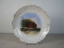 Antique Souvenir Dish - Adams Hall and Conservatory of Music in Tabor, IA