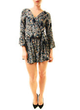 Free People Women's All The Right Ruffles Romper Blue Size Small (Missing Tags)