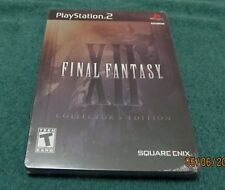 PS2 - Final Fantasy XII ~ Brand New Factory Sealed Game ~ Collector's Edition ~