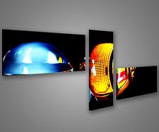 Quadri moderni astratti 180 x 70 stampe su tela canvas con telaio MIX-S_69