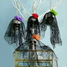 Halloween Decoration Hanging Scary Pirates Corpse Skull Haunted House Bar Props